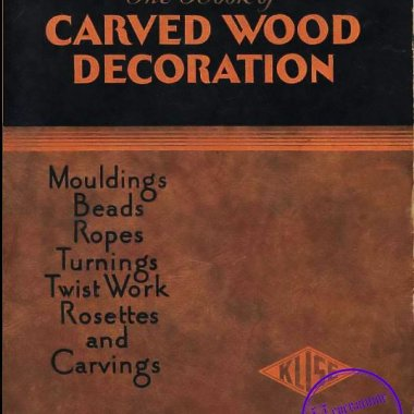 The book of carved wood decoration